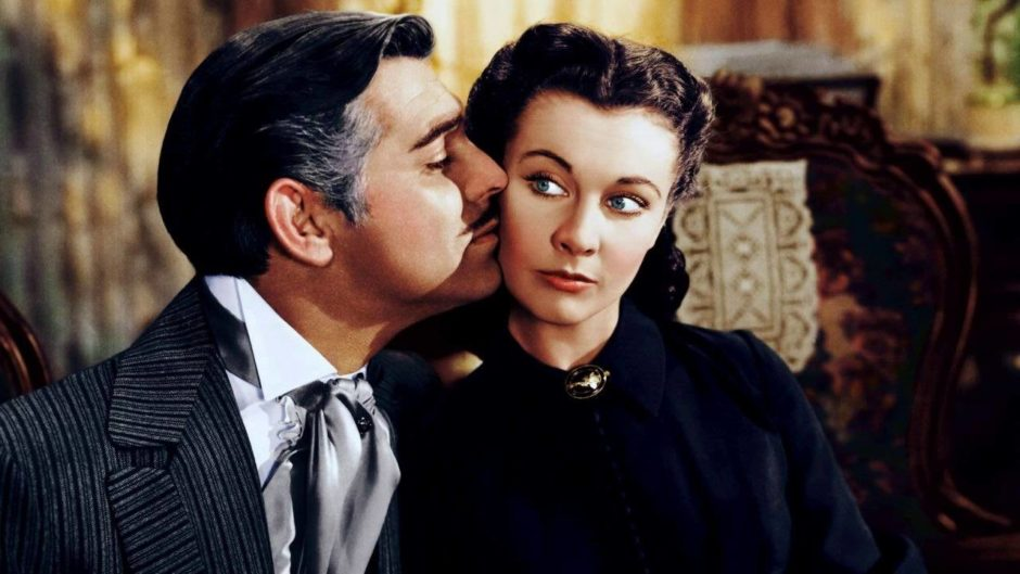 © Gone With The Wind, Margaret Mitchell, 1939 - Directeur de la photographie : Ernest Haller et Ray Rennahan