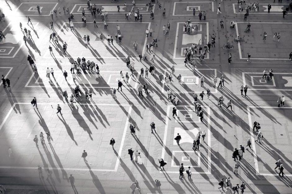 "© Gwen Tilly - ""Piazza Duomo"""