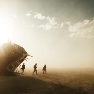 """© Ludovic Ismael - """"Passagers - Portrais de festivals"""" - Burning Man - Etats-Unis"""