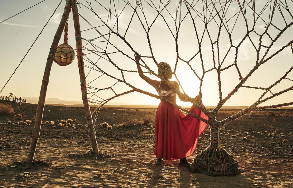 """©Ludovic Ismael - """"Passagers - Portrais de festivals"""" - Afrique du Sud - AfrikaBurn"""