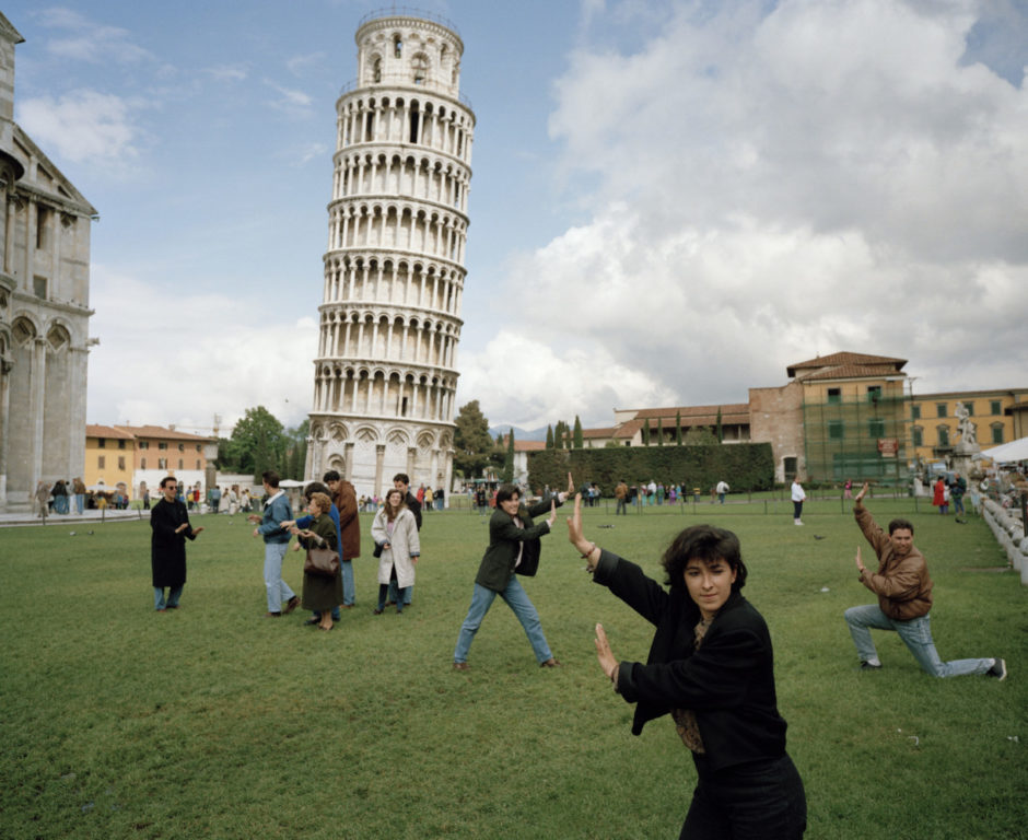 "© Martin Parr - Magnum Photos - ""Italy, Pisa, The Leaning Tower of Pisa, From ""Small World"", 1990"""
