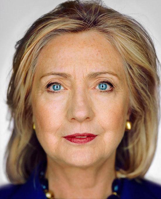 © Martin Schoeller - Hillary Clinton