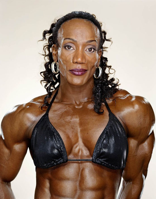 © Martin Schoeller - Female body-builder