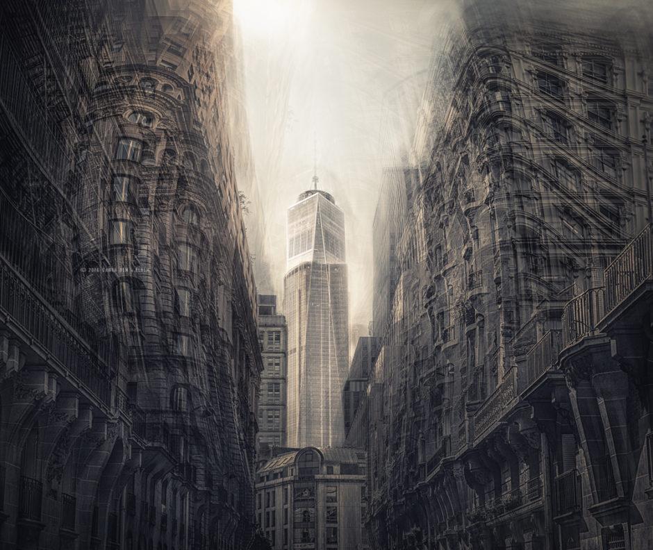 © Carla De La Matta et Loïc Rémy - Phantasma - WTC NYC & Montparnasse Paris