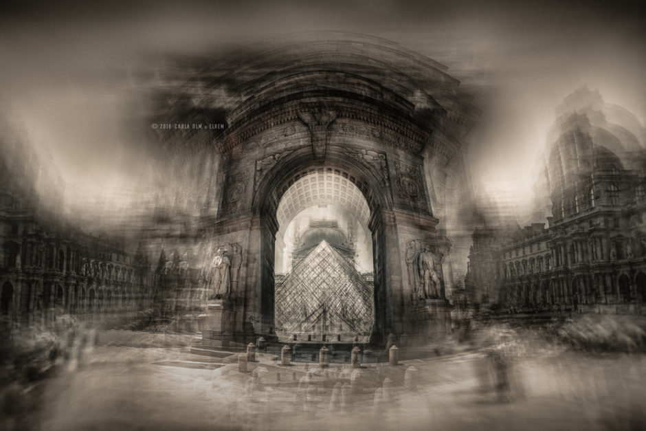 © Carla De La Matta et Loïc Rémy - Phantasma - The Louvre Museum & Washington Square Arch