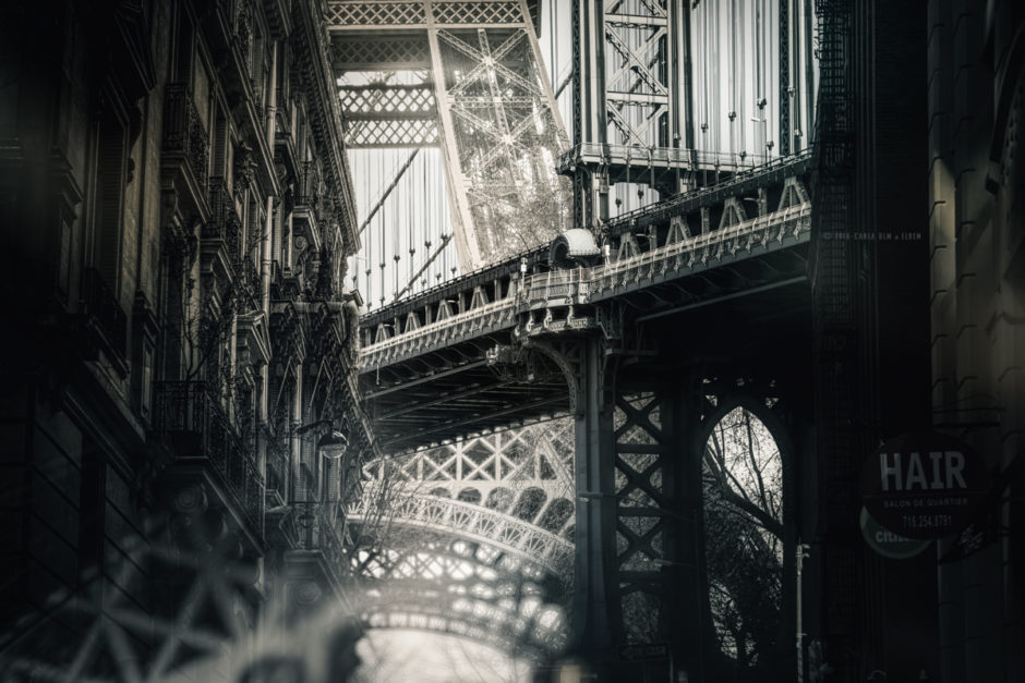 © Carla De La Matta et Loïc Rémy - Phantasma - Eiffel Tower & Manhattan Bridge