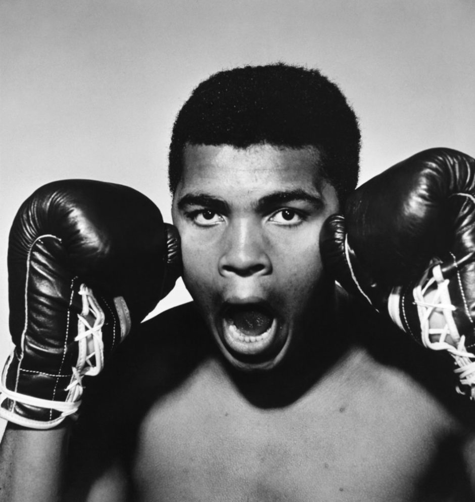 "© Philippe Halsman - Magnum Photos - ""The American boxer Muhammad Ali, 1963"""