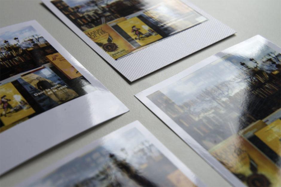 Papier texturé pour un effet Pola plus authentique
