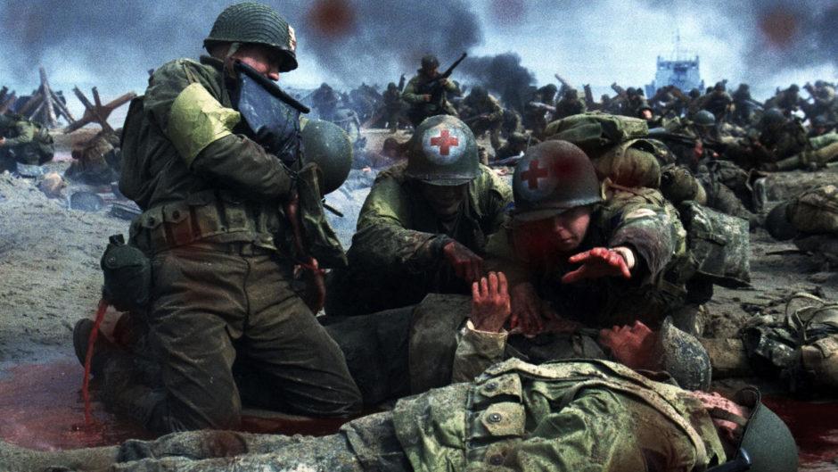 © Il faut sauver le soldat Ryan (Saving Private Ryan), Steven Spielberg, 1998 - Directeur de la photographie : Janusz Kaminski