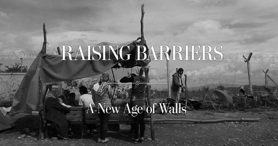 © A New Age of Walls - Innovative Storytelling - First Prize - World Press Photo Digital Storytelling