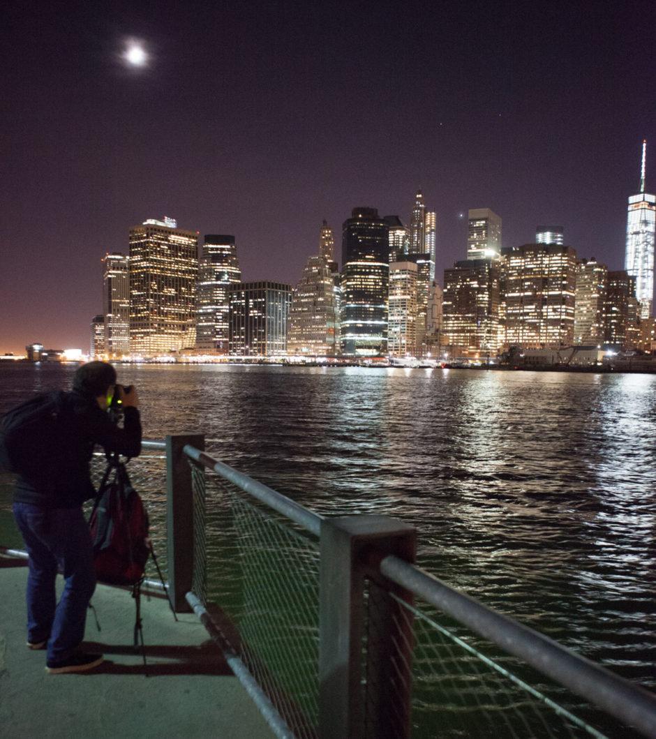 Un panoramique de poses longues à New York, stabilité tout aussi nécessaire !