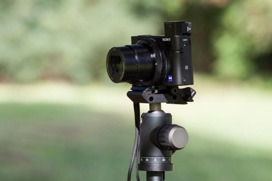 La bague d'objectif de ce compact expert Sony RX100 Mark 3 ne peut pas être utilisée.