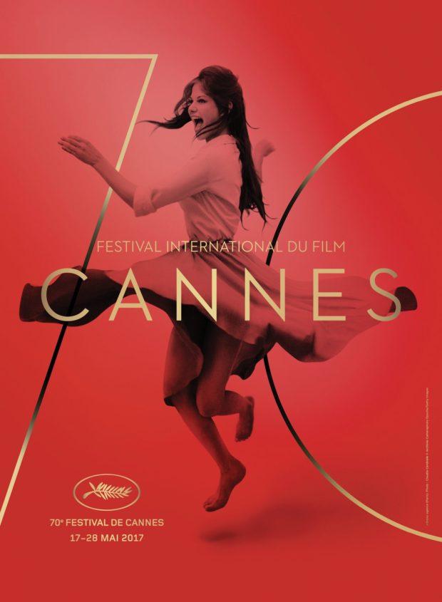 Affiche Festival de Cannes 2017 - avec Claudia Cardinale