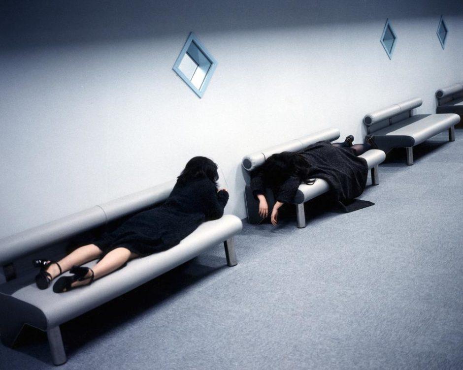 """© Bertrand Desprez - Agence VU - Japon - """"Les quatre saisons au Japon"""" - Printemps 1998 - Tokyo et sa région N°8242"""