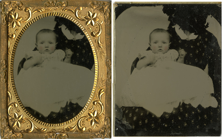 Hidden Mother - Parfois la tête de la maman était découpée ou retirée du portrait