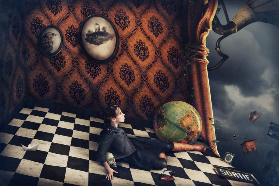 """© Laurence Guennec - """"La Chute"""" - """"Le Petit Monde"""""""