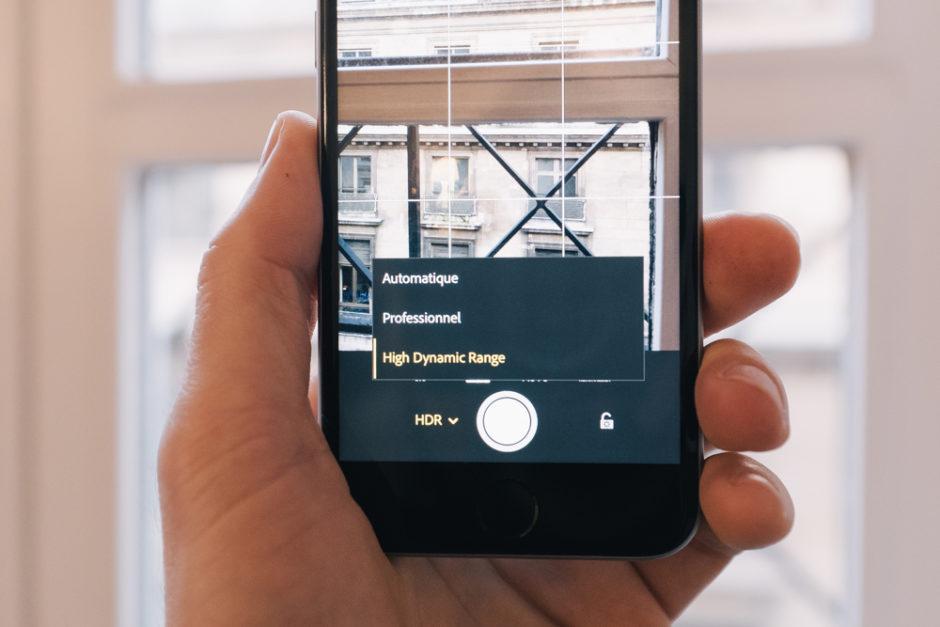 Lightroom Mobile HDR