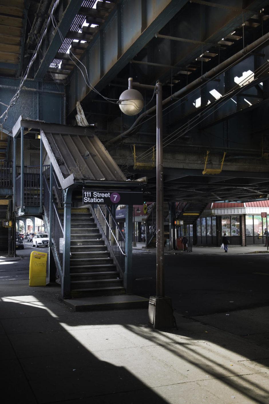 "© Philippe Beasse - ""111 Street Station Queens New York"""