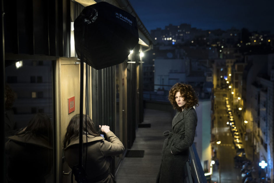 © Maxime Stange - Pauline Darley en plein travail