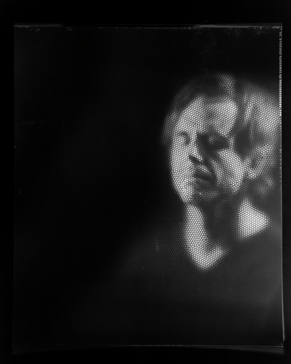 © Michael Farrell & Cliff Haynes, Straw Camera, Portrait