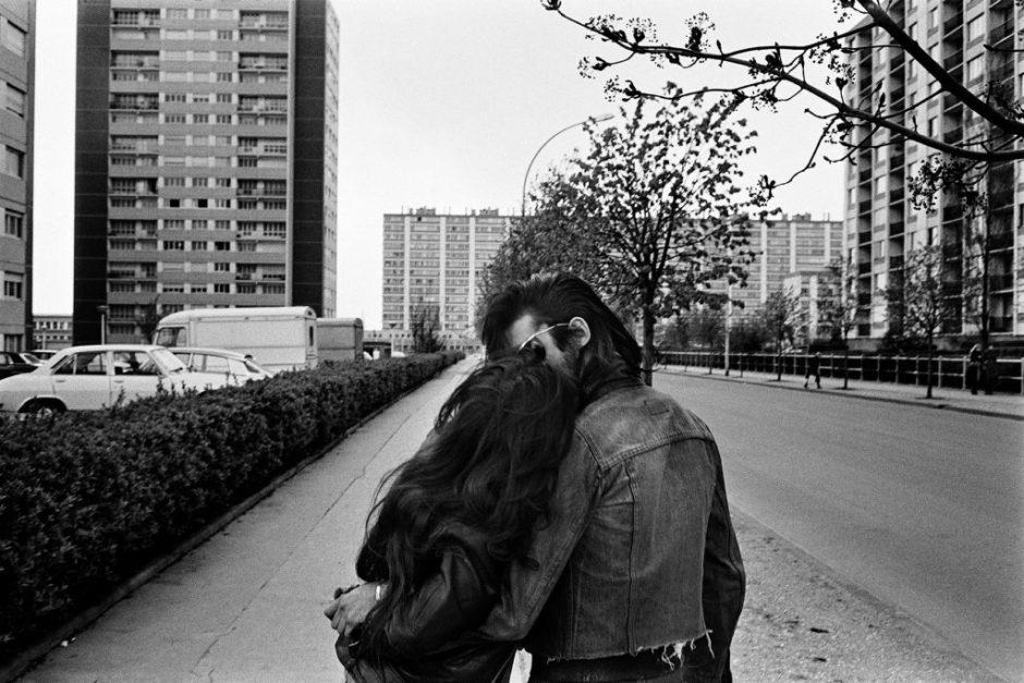 """© Yan Morvan, """"Les blousons noirs"""", 1974 - Exposition au Festival l'Oeil Urbain de Corbeil-Essonnes"""