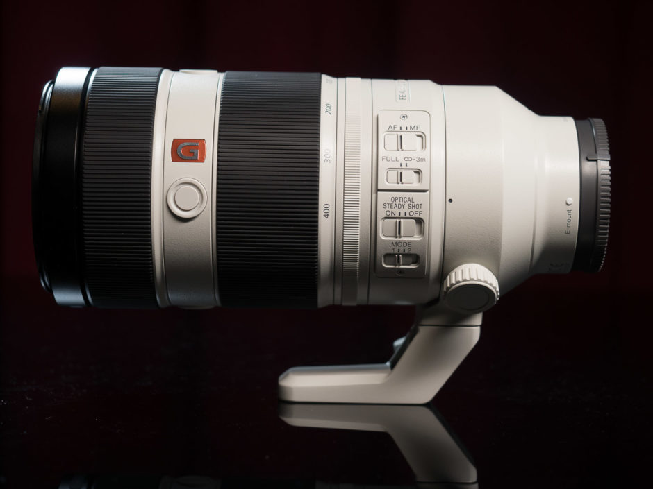 Sony FE 100-400mm F4.5-5.6 GM OSS G Master