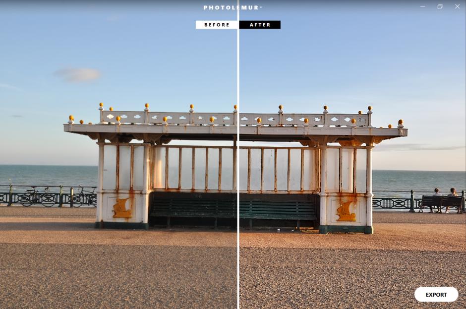 Quand une photo est assez contrastée et exposée dè sla prise de vue, Photolemur ne retouche presque rien... Mais il ne gère pas encore bien le remise à niveau horizontale !