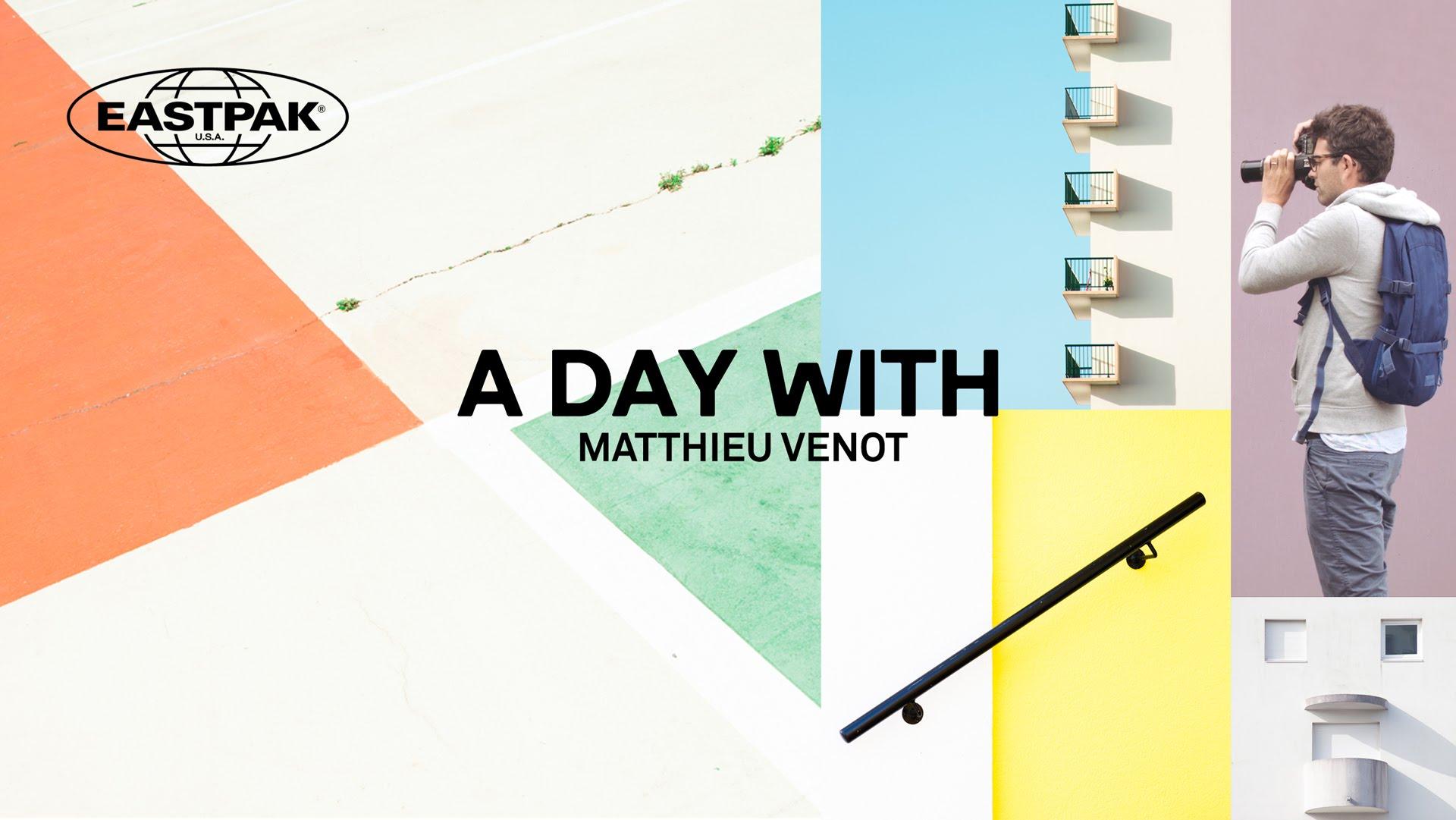 Vidéo : les photos d'architecture minimalistes de Matthieu Venot présentées par Eastpak France