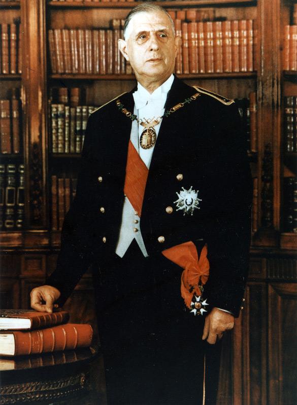 Charles de Gaulle (1959-1969)