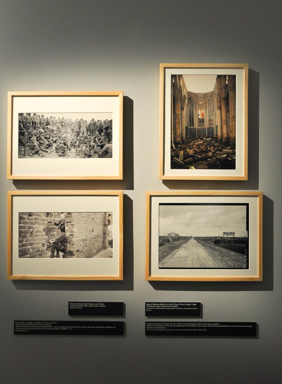 """© Edouard Brissy - Exposition """"Photographes de guerre - Depuis 160 ans, que cherchent-ils ?"""" - Mémorial de Verdun"""