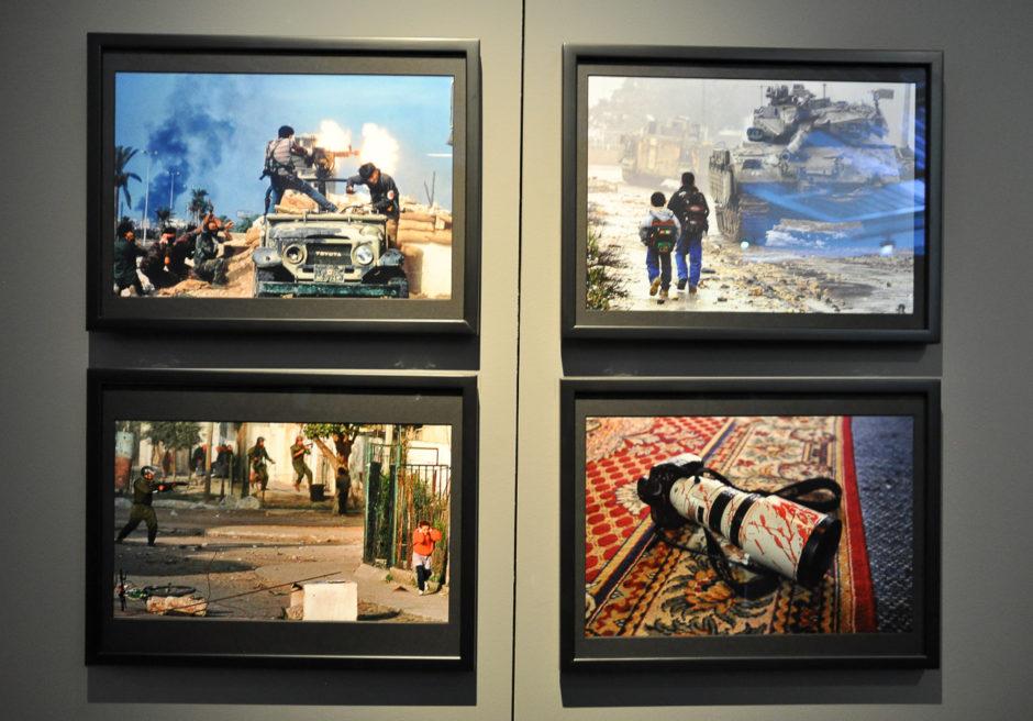 """© Patrick Baz - Exposition """"Photographes de guerre - Depuis 160 ans, que cherchent-ils ?"""" - Mémorial de Verdun"""