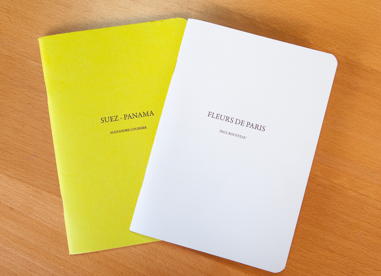 Collection de livres photo des éditions Stupid Competitions dont le premier numéro est celui de Paul Rousteau intitulé Fleurs de Paris