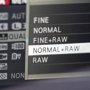 RAW + Jpeg