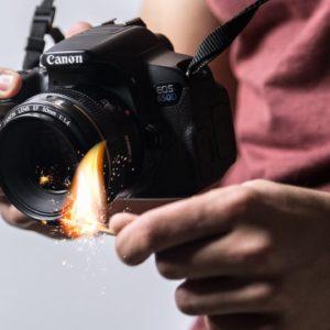effet brûlé - vidéo