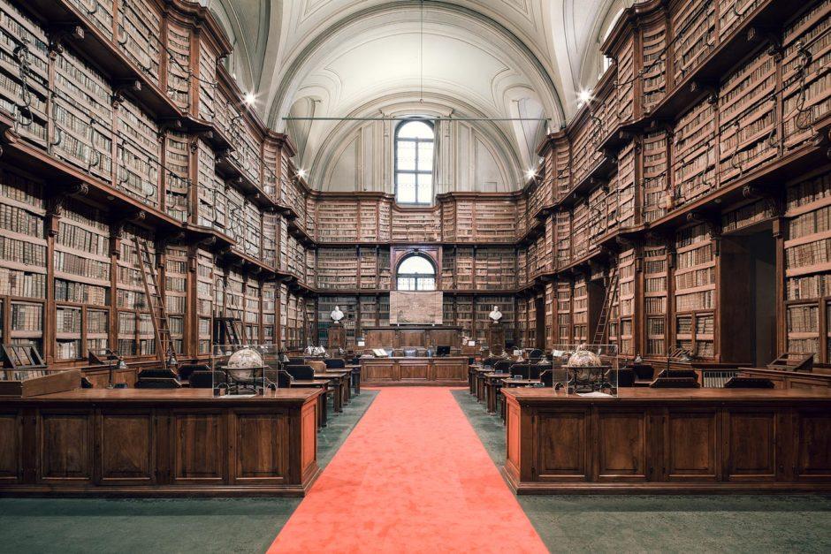 "© Thibaud Poirier - ""Libraries"" - Biblioteca Angelica, Rome"