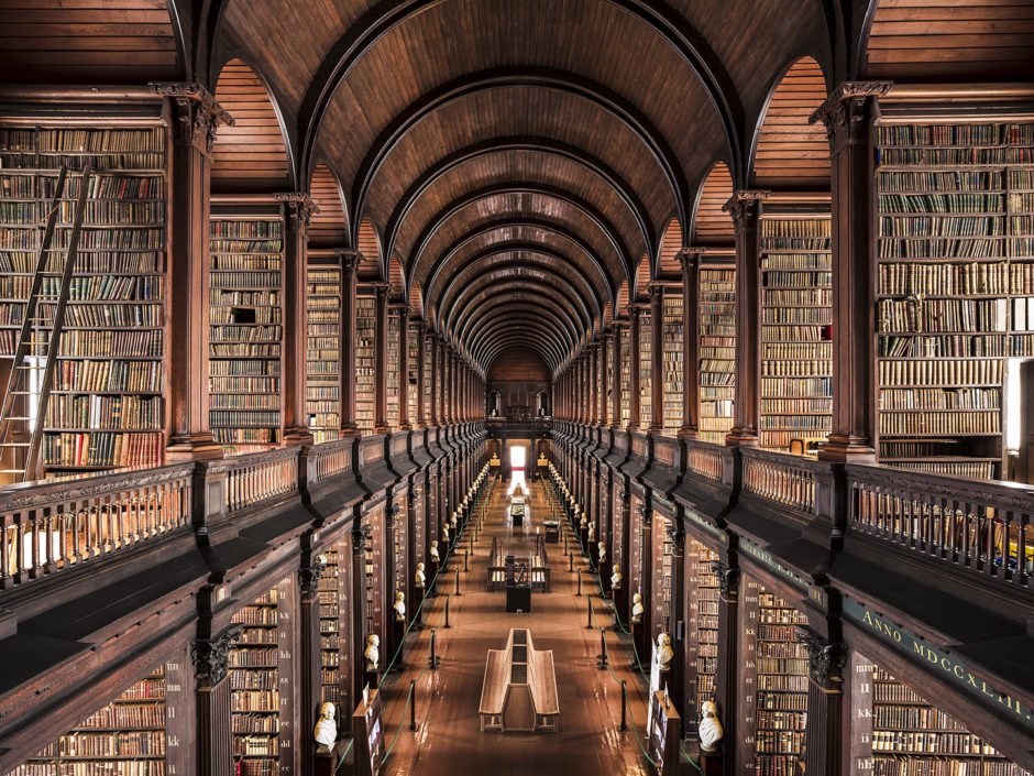 "© Thibaud Poirier - ""Libraries"" - Trinity College Library, Dublin, 1732"