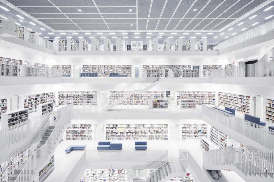 """© Thibaud Poirier - """"Libraries"""" - Stadtbibliothek, Stuttgart, 2011"""