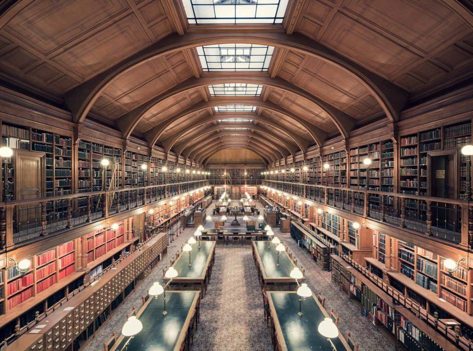 """© Thibaud Poirier - """"Libraries"""" - Bibliothèque de l'Hotel de Ville de Paris, Paris, 1890"""