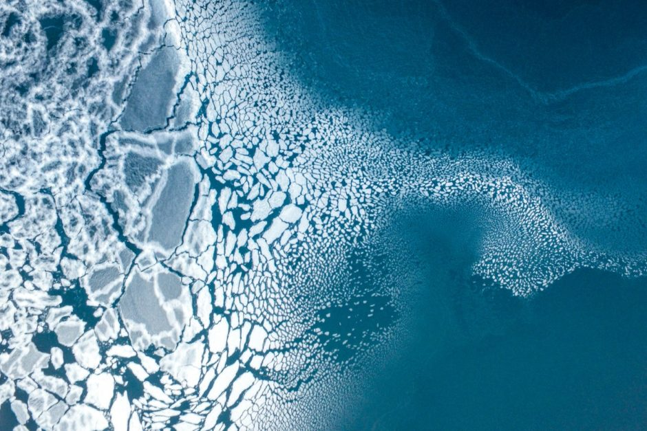 3e place – Nature : Ice formation par Florian