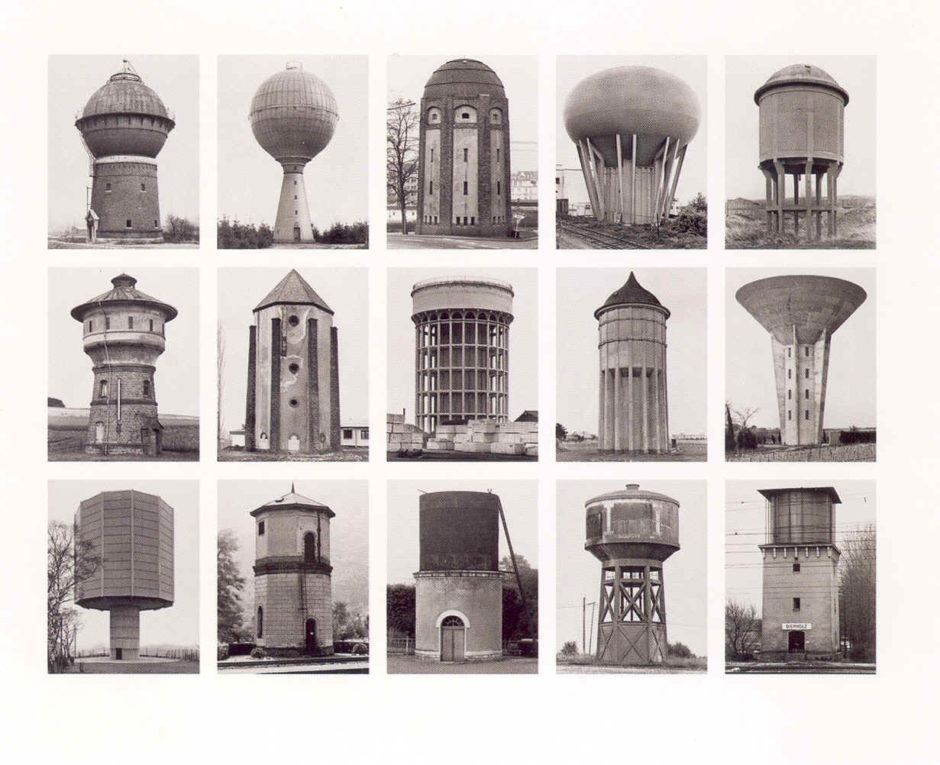 """Water tower"", Bernd and Hilla Becher, 1972"