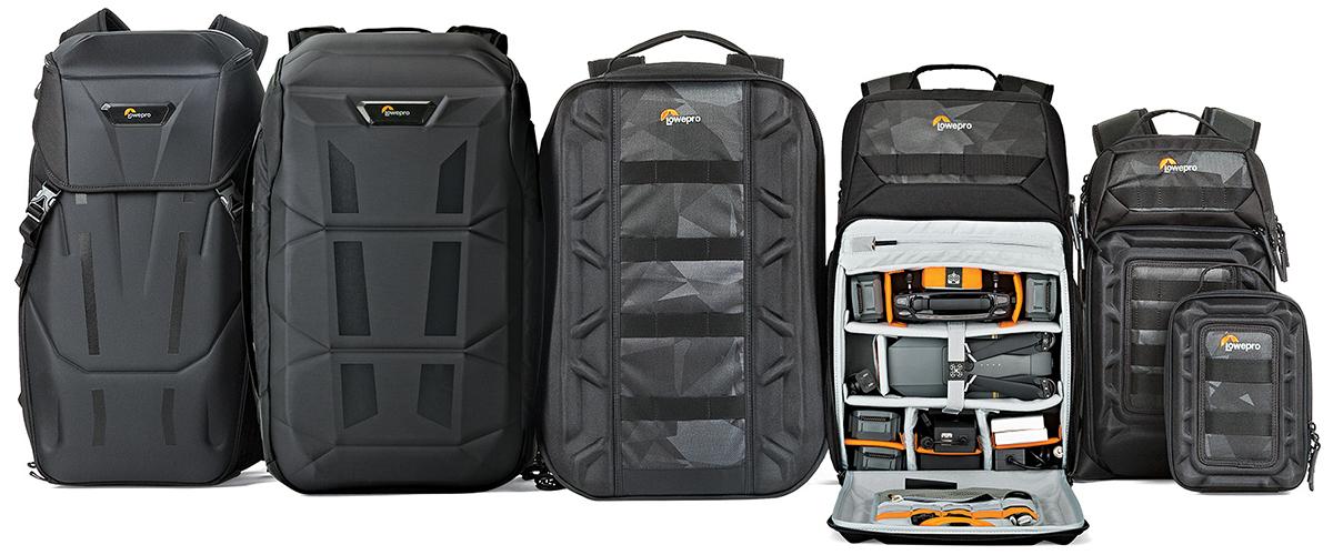 Nouvelle gamme de sacs à dos Lowepro DroneGuard AW