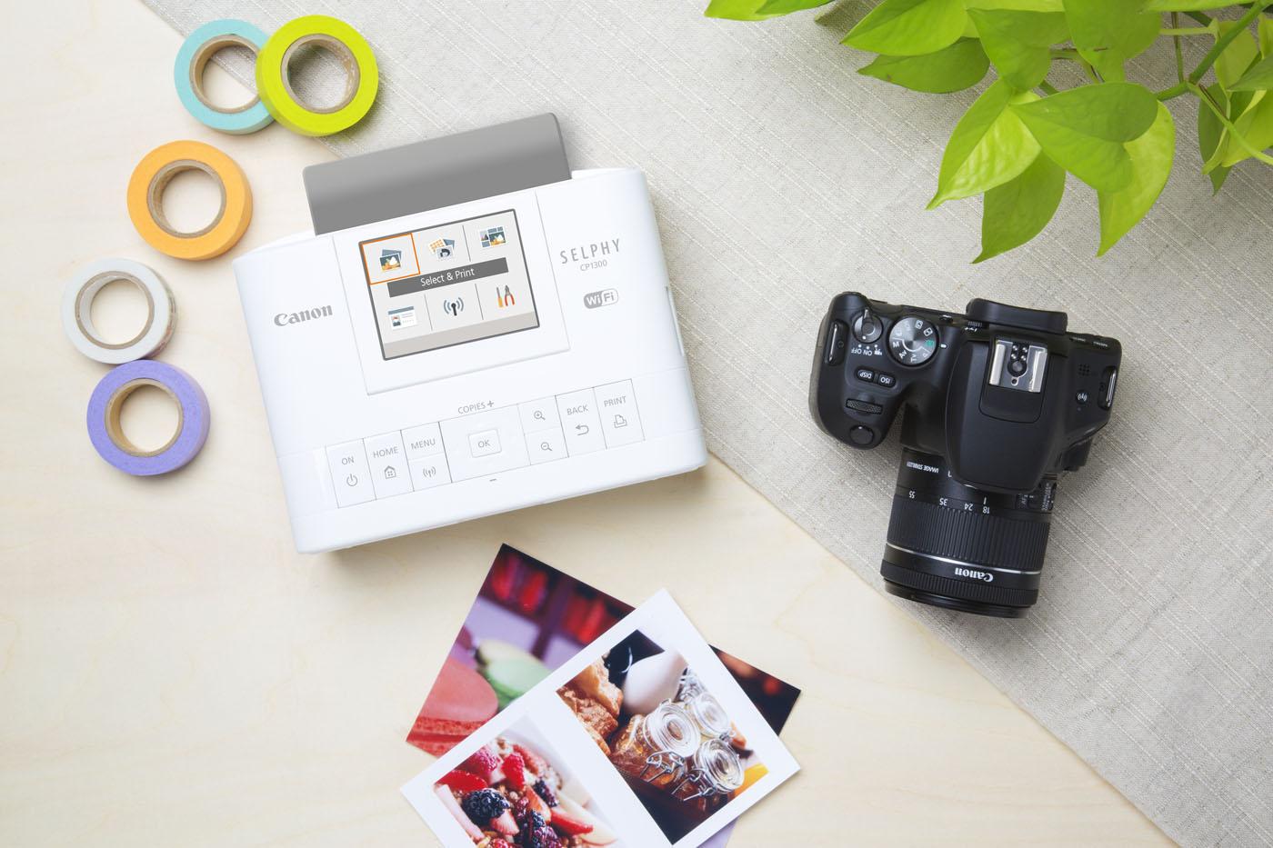 Canon Selphy CP1300 : quoi de neuf sur cette imprimante photo Wifi compacte ?
