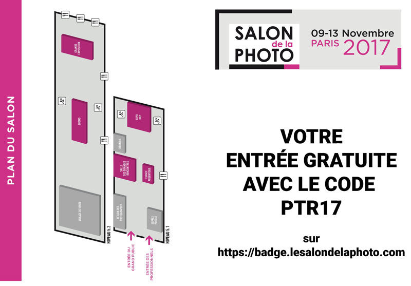 Votre entr e gratuite au salon de la photo 2017 avec for Entree gratuite salon agriculture