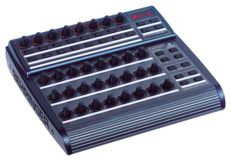 Controleur Midi Audio