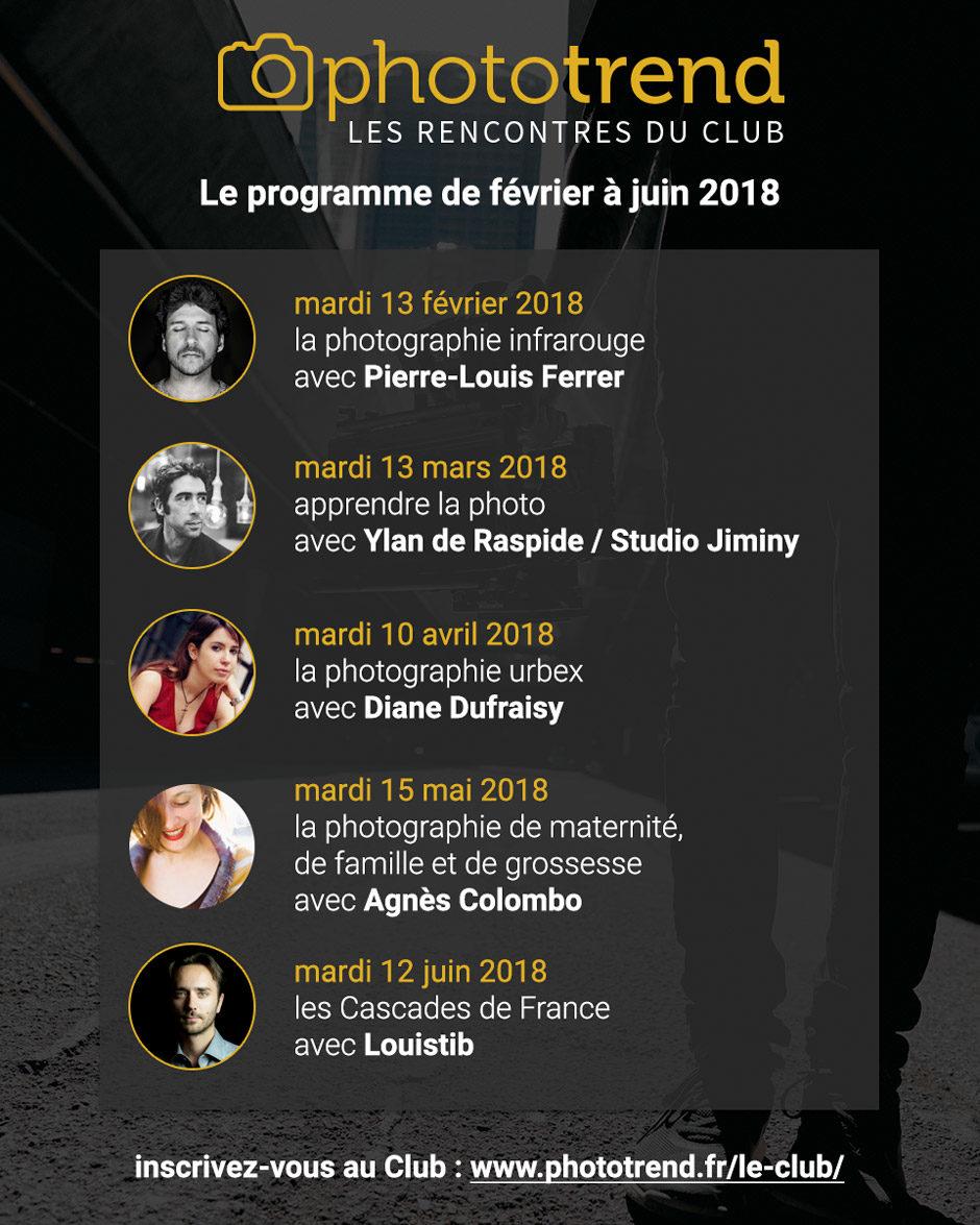 Rencontres de huy 2018 programme