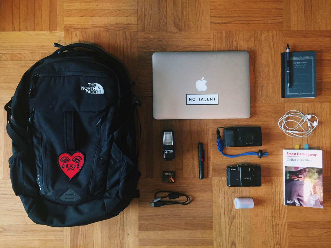 DLSP #62 : Dans le sac photo d'Arnaud Bicand
