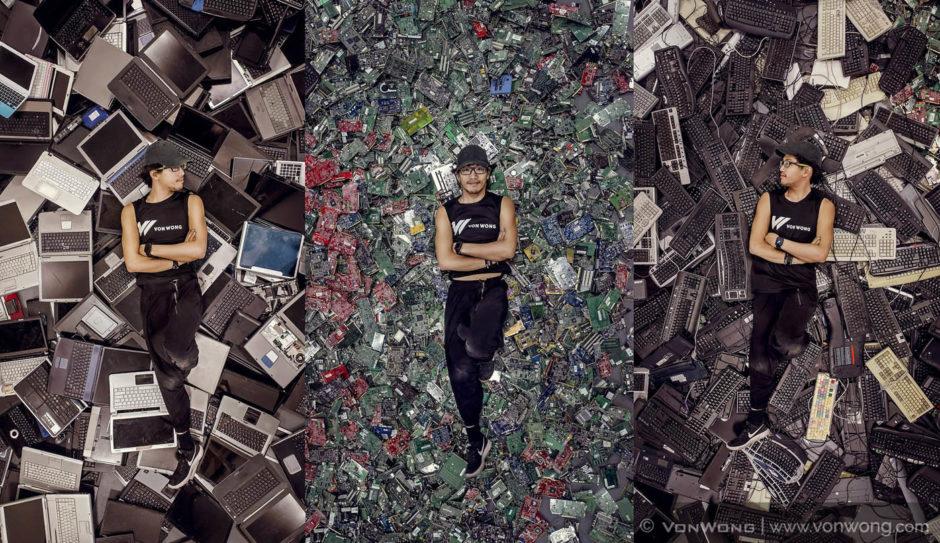 Benjamin Von Wong E-waste