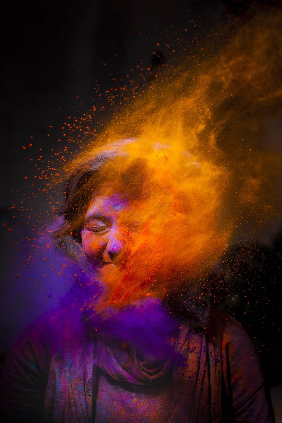 Holi Portraits © Bhavesh Bhati