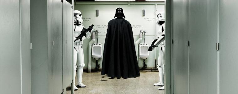 Darth Vader At The Urinal