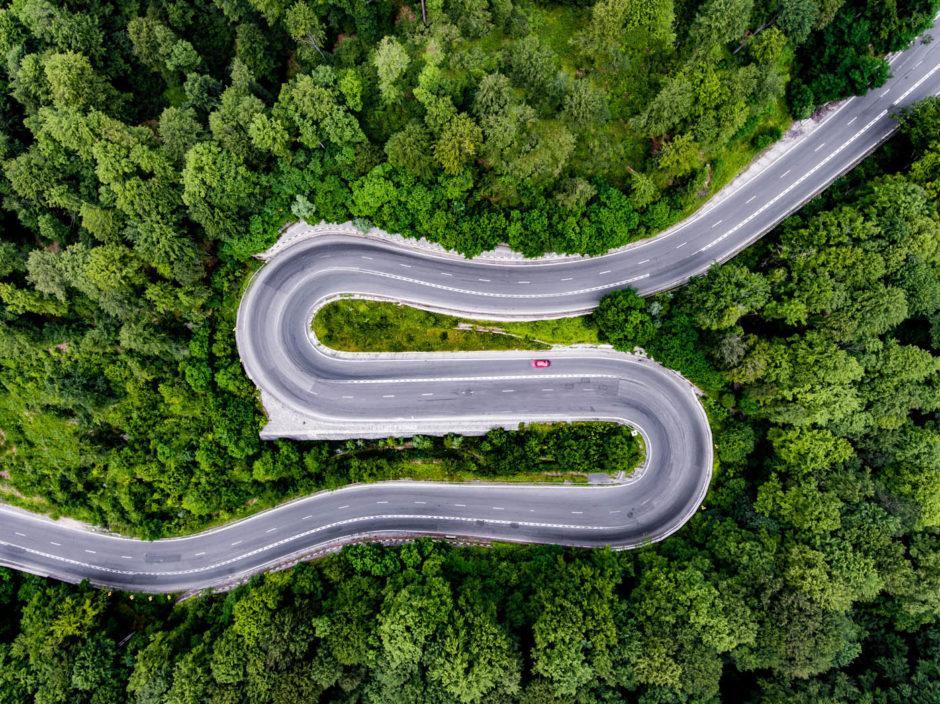 Infinite Road to Transylvania © Calin-Andrei Stan